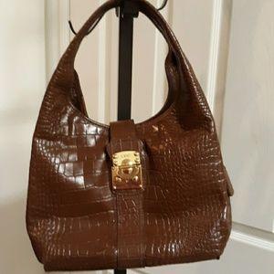 Brown DKNY Hobo Purse/Bag